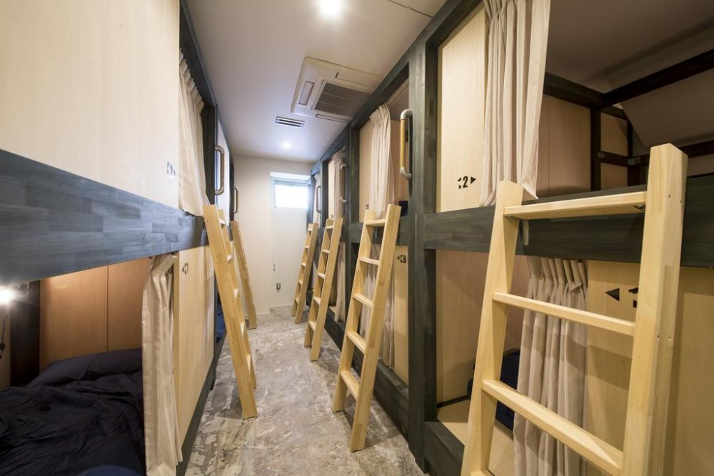 kaname hostel shared room