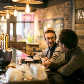 japanese and tourists meet in kaname bar