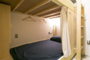large bed space in hostel in Kanazawa