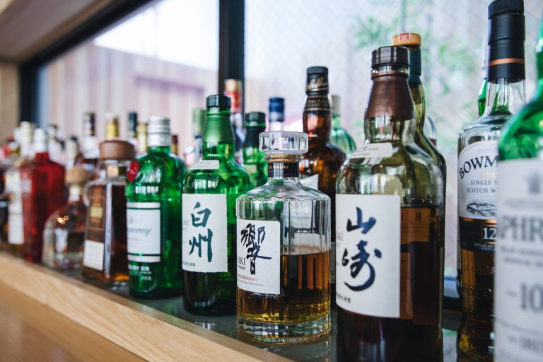 japanese whiskeys at KMB