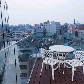 ninth floor kaname hotel balcony