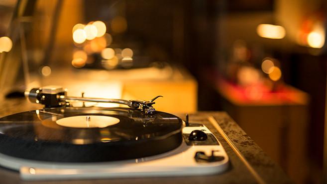 Kanazawa Music Bar Vinyl Record Booth