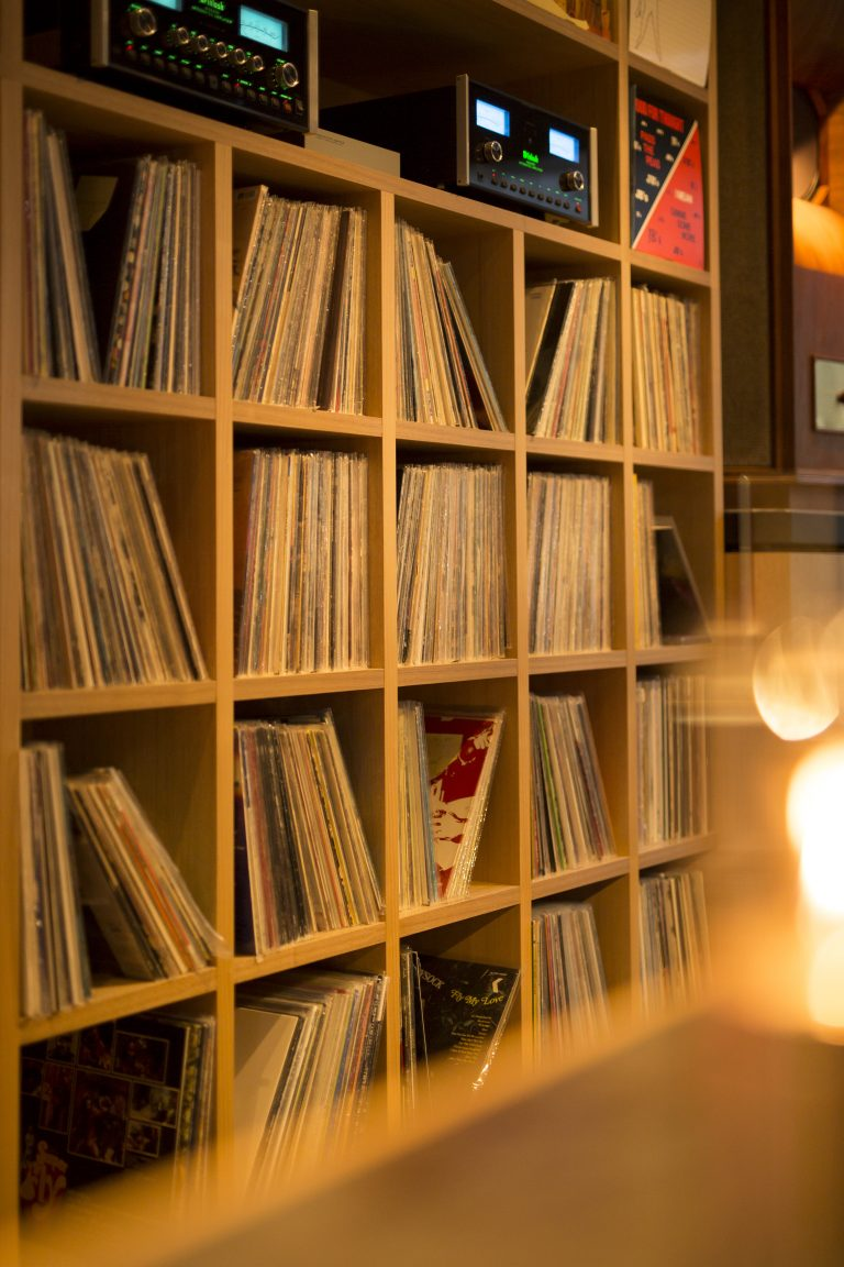 kanazawa music bar vinyl records selection