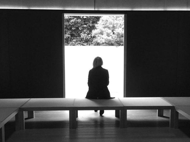 meditation room of dt suzuki museum in kanazawa