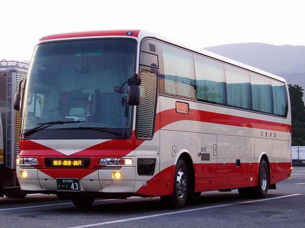 hokutetsu highway bus from kanazawa to shirakawago