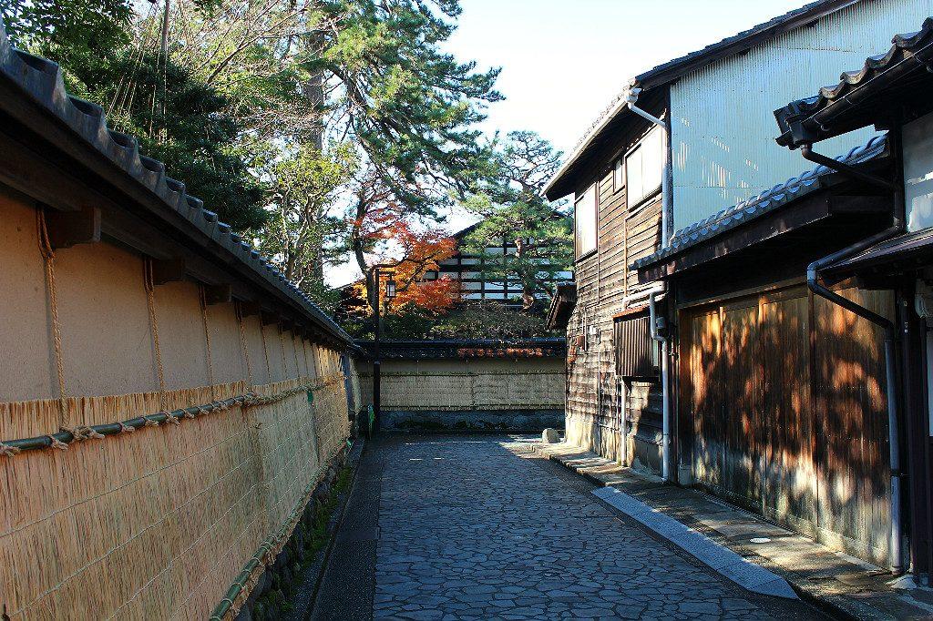 nagamachi, kanazawa's samurai district