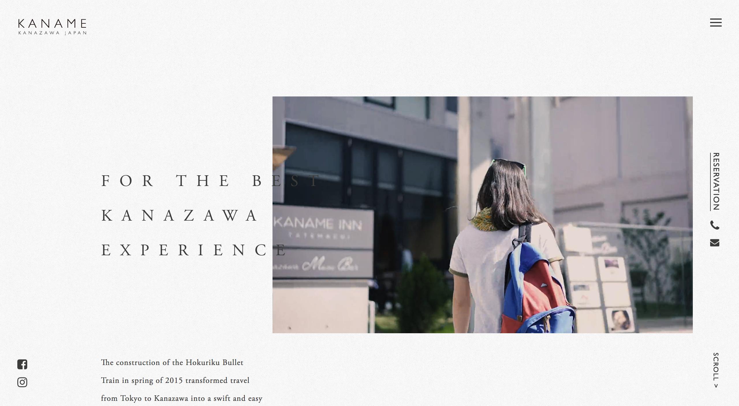 Kaname Group Official Website | Hotel Hostel Cafe Music Bar Kanazawa