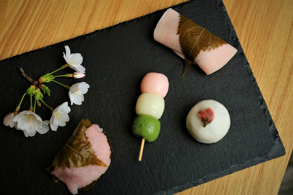 Sakura Flavored Treats to Eat during the Cherry Blossom Season in Kanazawa, Japan
