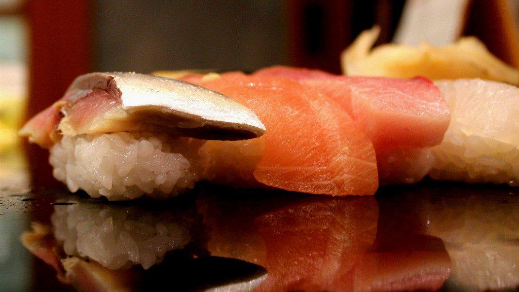 Sushi Ippei, only two minutes from Kaname Inn, Kanazawa