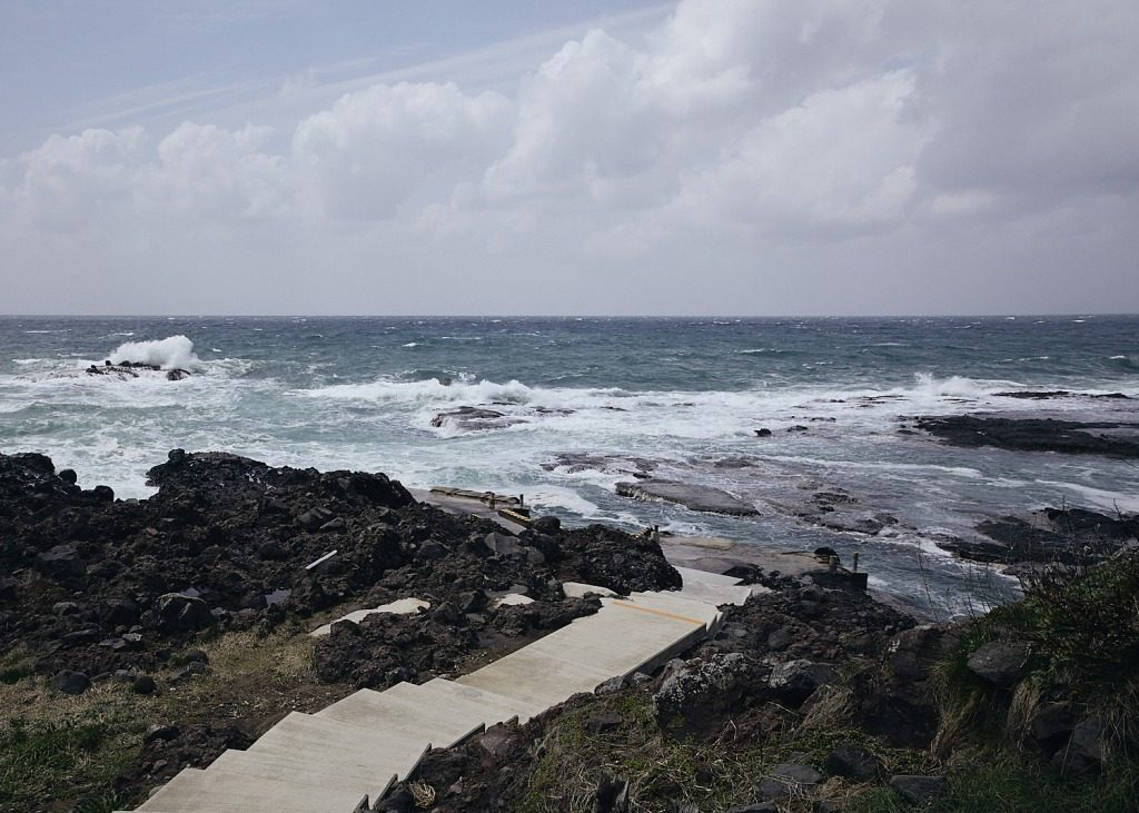 along the noto kongo coastline near ganmon