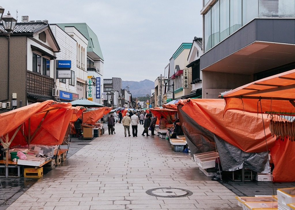 The Wajima Morning Market