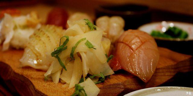 Sushi Shusai Nakamura, a hidden sushi restaurant in Kanazawa near Kaname Inn