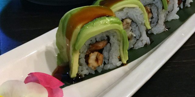 Avocado Roll at Elbow Room in Kanazawa