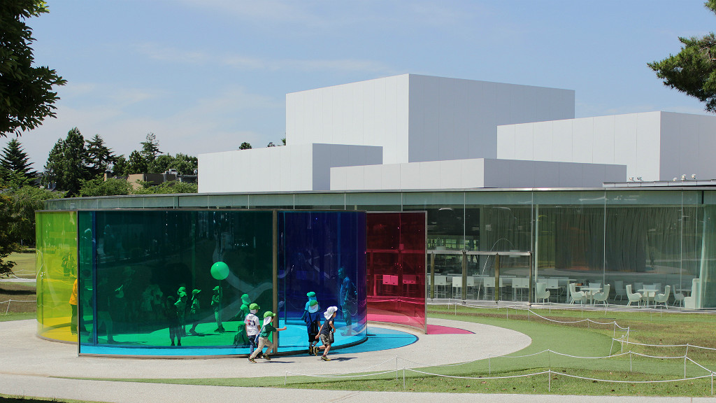 The Color Activity House at the 21st Century Museum of Contemporary Art, Kanazawa, Japan
