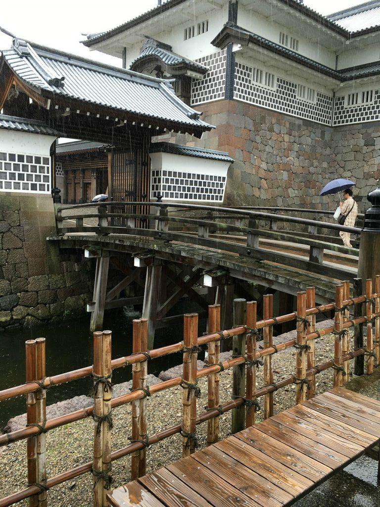 Kanazawa Castle Moat Rain, Aaron Maninno
