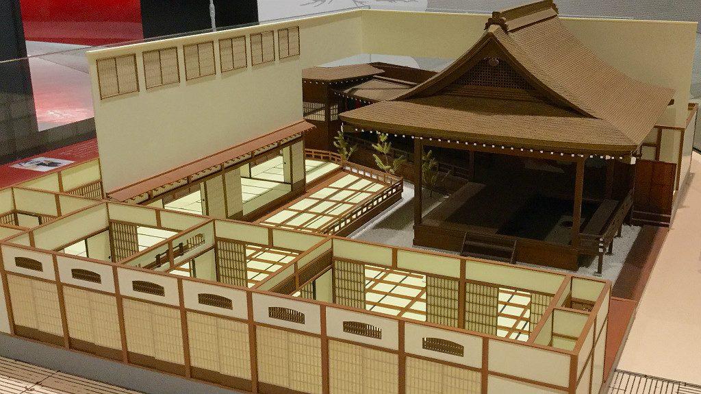 Noh Stage Diorama at the Kanazawa Noh Museum
