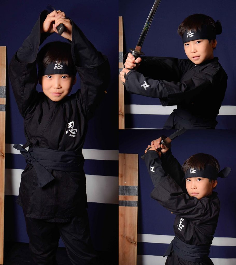 Ninja Costuming in Kanazawa, Japan, courtesy of Samurai Yakata