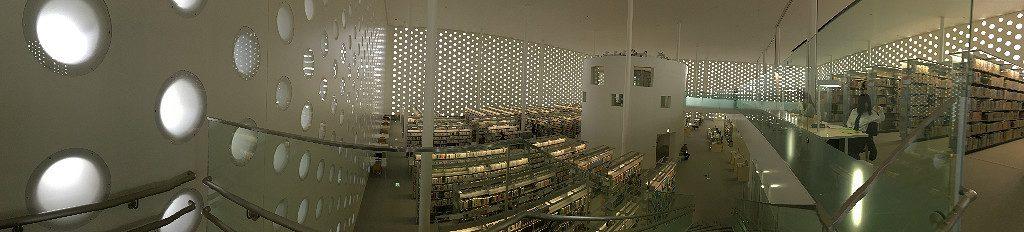 Umimirai Library, Aaron Mannino