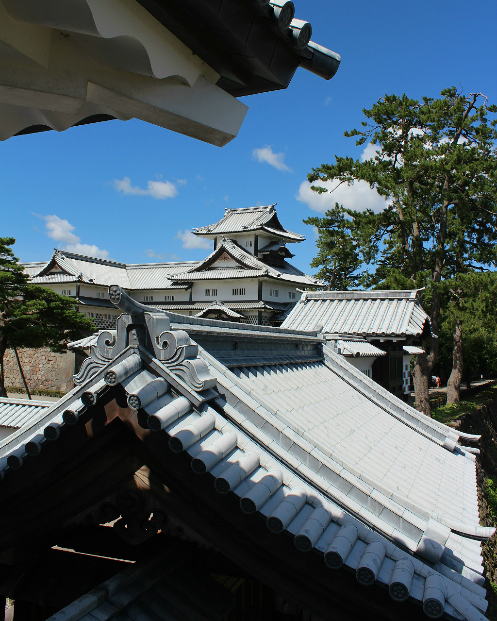 Kanazawa Castle cluster of buildings