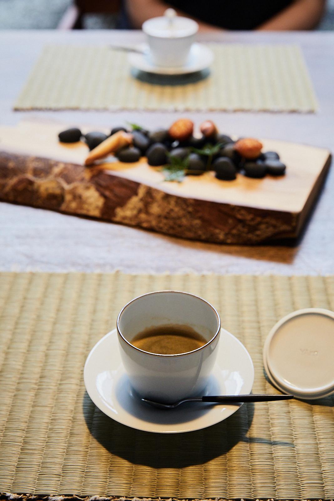 Coffee at YArn in Komatsu