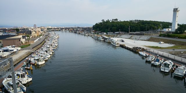 Port of Ono, courtesy of the Kanazawa Tourism Association