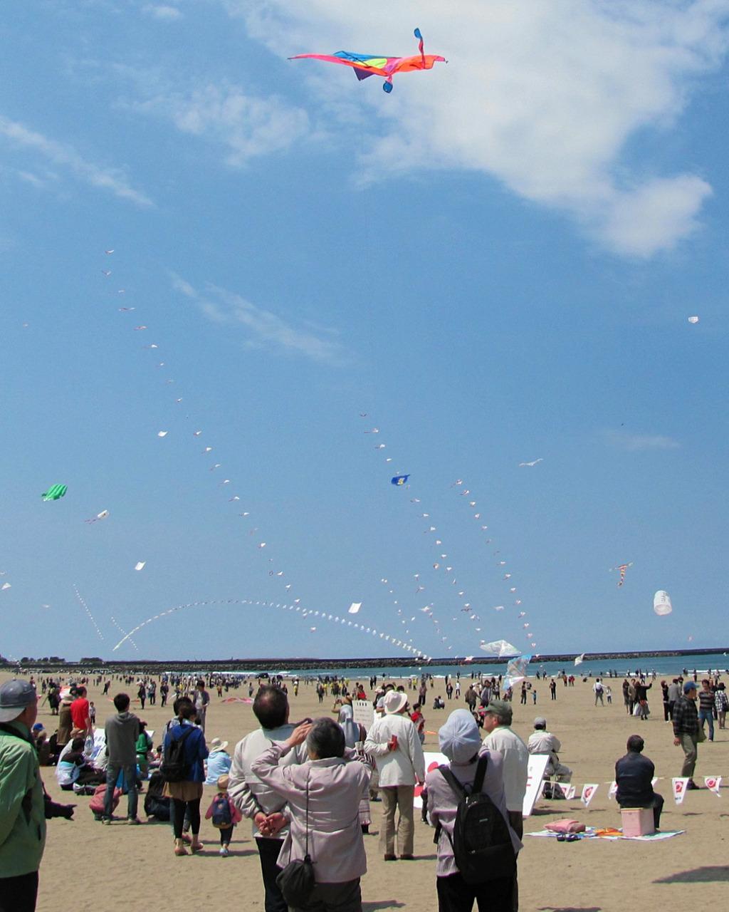Uchinada Kite Festival, by rlquinn1980 on Flickr