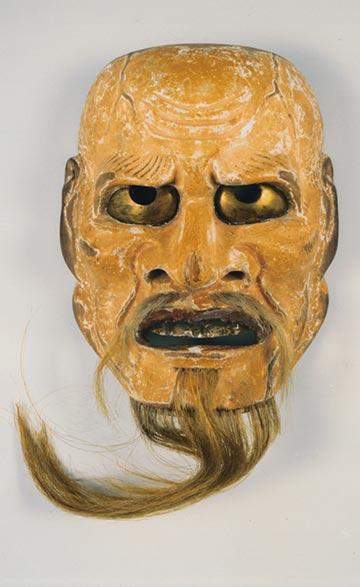 Akujo Mask of Oyama Shrine, Kanazawa, Japan