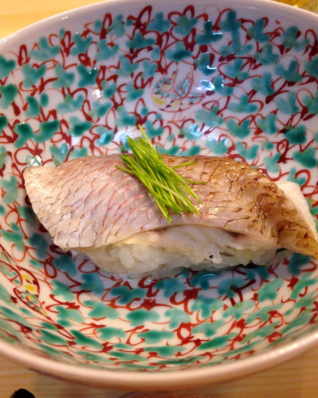 Steamed black throat sea perch, nodoguro, a speacialty of Kanazawa, Japan