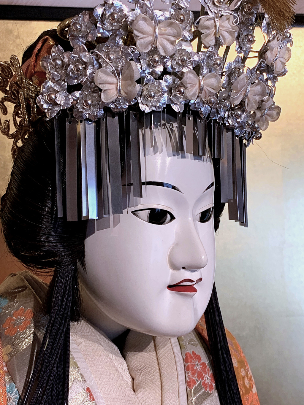 female bunraku doll at the Dolls Museum in Nishi Chaya, Kanazawa's western geisha district