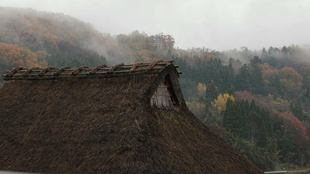 Farmhouse at Edomura in Yuwaku Onsen Town, Kanazawa