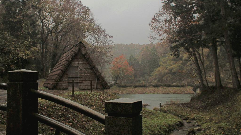 Himuro Koya, the Ice House in Yuwaku Onsen Town, Kanazawa