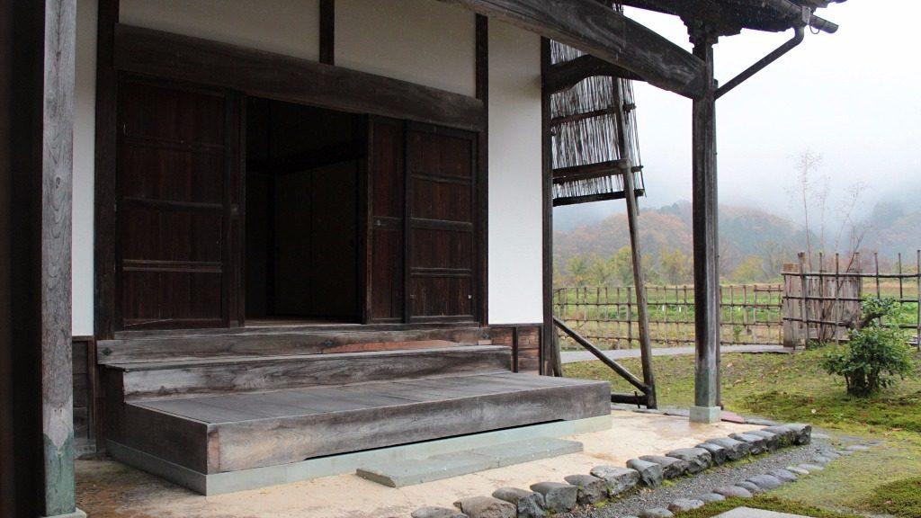 Edo-era royal lodging in Edomura, Yuwaku, Kanazawa