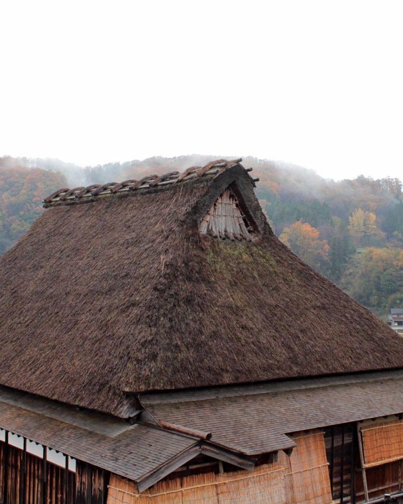 Preserved farmhouse in Edomura, Yuwaku, Kanazawa