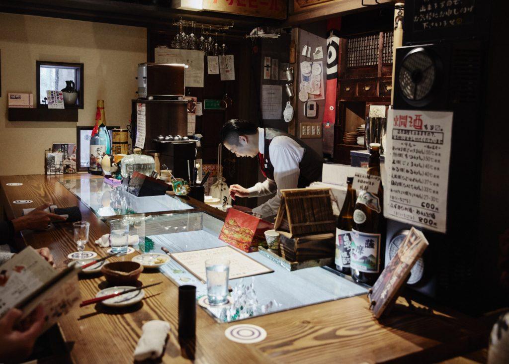 Sake Bar, Kaga Onsen