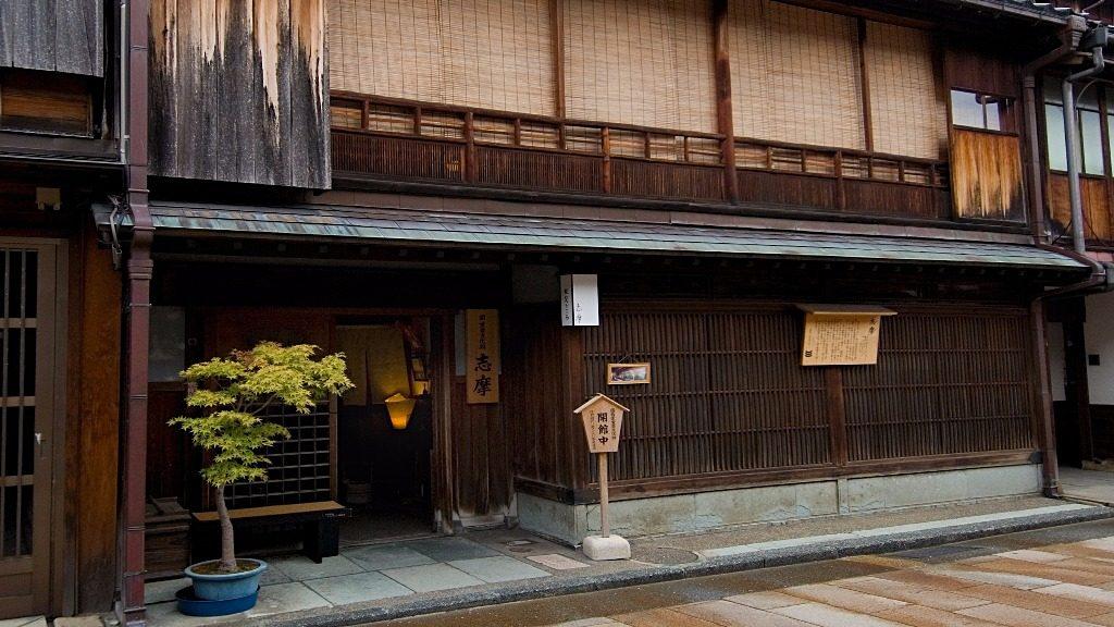 Shima Geisha House in Higashi Chaya, Kanazawa, Japan