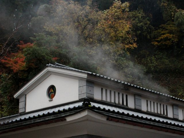 Shirasagi no Yu, public onsen in Yuwaku, Kanazawa