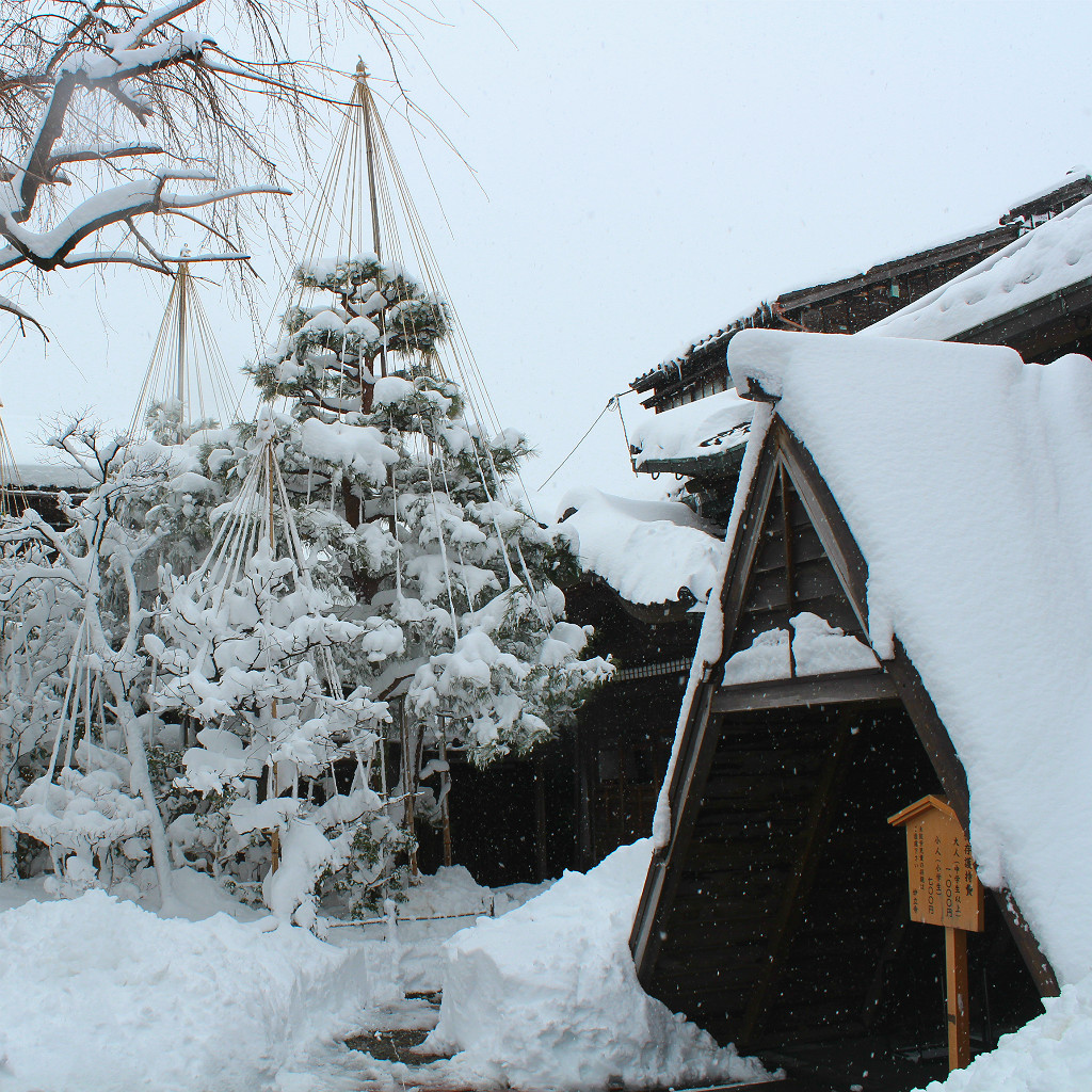 Myoryuji, the Ninja Temple in Kanazawa under winter snows