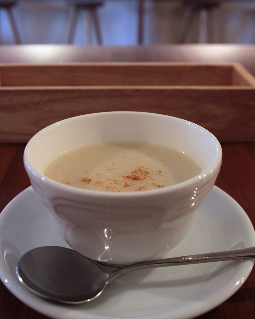Vegan Potato Soup at Taste & Scent in Kanazawa, Japan