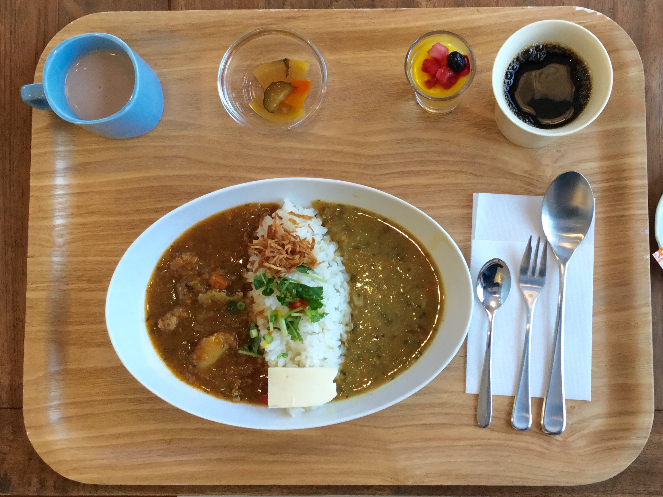 Nanahoshi's lunch of new style Kanazawa curry