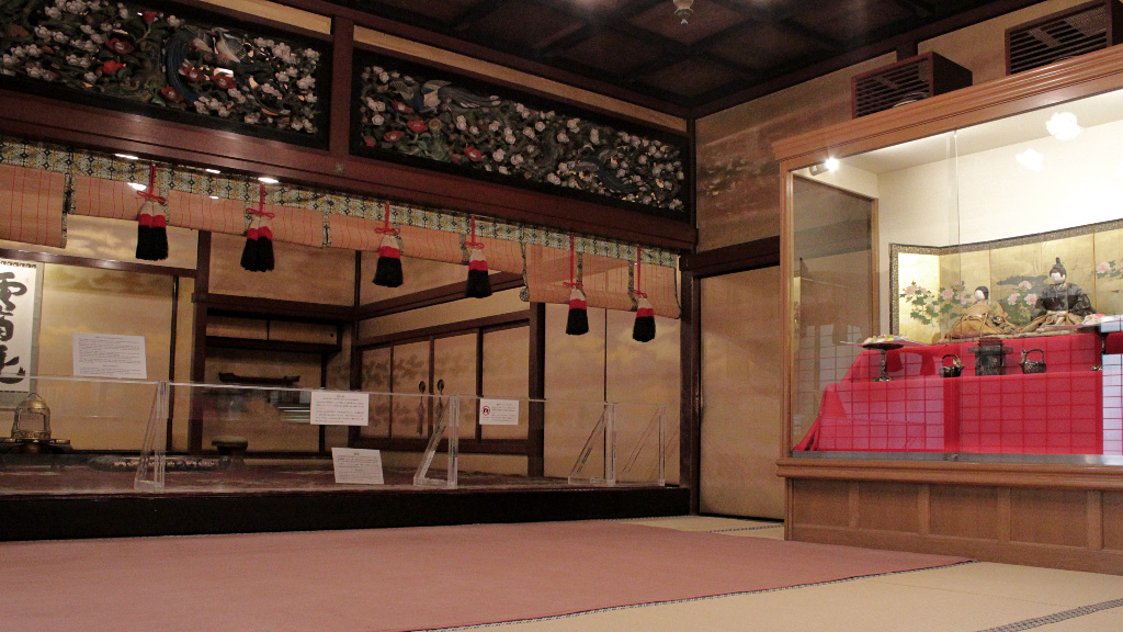 The Receiving Hall of Seisonkaku Villa, an official meeting room for Japanese daimyo and members of the Kaga Clan in Kanazawa.